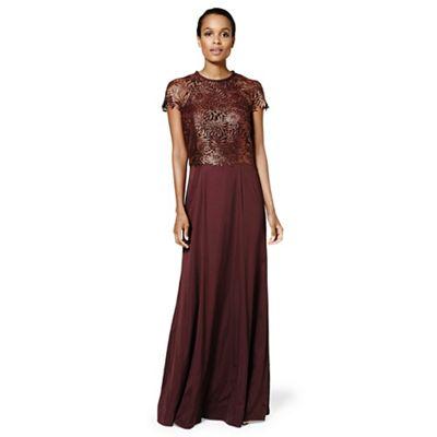 282c7edeb1 Phase Eight Nala lace full length dress | Debenhams