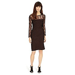 Phase Eight - Suzy foil lace dress