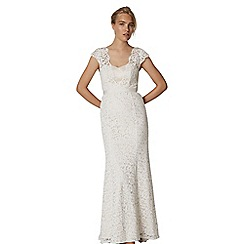 Phase Eight - White maegen lace bridal dress