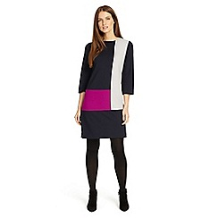 Phase Eight - Multi-coloured Cindy colour block dress
