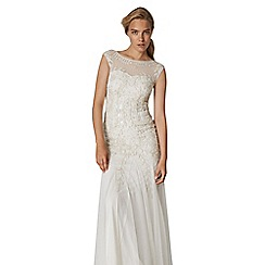 Phase Eight - Natural sabina embellished bridal dress