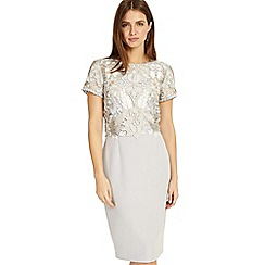 Phase Eight - Grey suki lace dress
