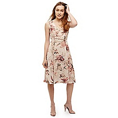 Phase Eight - Pink vivien floral printed dress