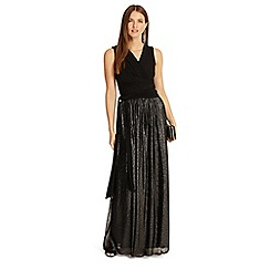 Phase Eight - Jean wrap pleated maxi dress
