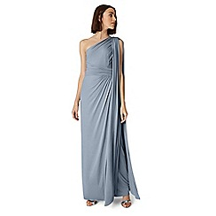 Phase Eight - Blue winnie one shoulder maxi dress