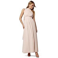 Phase Eight - Pink roxi maxi bridesmaid dress