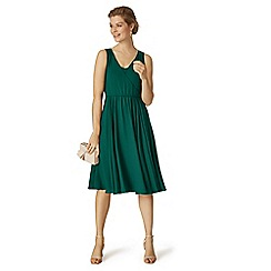 Phase Eight - Green rosa dress