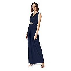 Phase Eight - Blue Martha embellished maxi dress