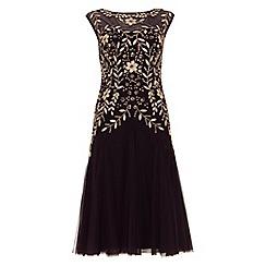 Phase Eight - Purple ariel embellished dress
