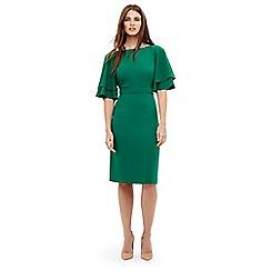 Phase Eight - Green daley drape dress