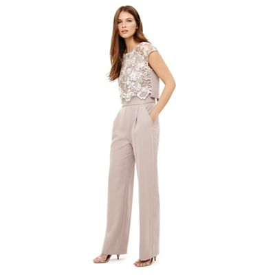 Phase Eight   Natural Cortine Jumpsuit by Phase Eight