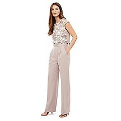 Phase Eight - Natural cortine jumpsuit