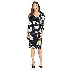 Phase Eight - Blue marina floral dress