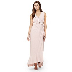Phase Eight - Pink neona maxi bridesmaid dress