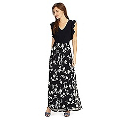 Phase Eight - Navy loretta floral lace maxi dress