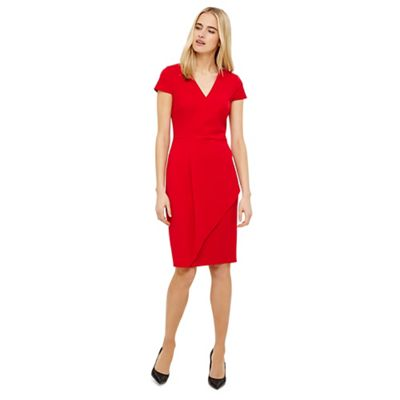 Phase Eight   Red Adrianna Asymmetric Dress by Phase Eight