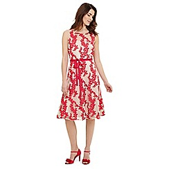Phase Eight - Pink Adele embroidered dress