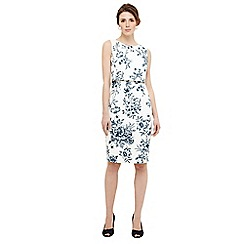 Phase Eight - Ivory romily scuba floral dress