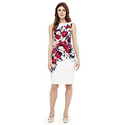 Phase Eight - Cream cassia floral printed dress