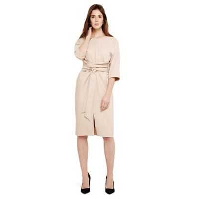 Phase Eight   Light Brown Sophia Kimono Belted Dress by Phase Eight