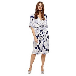 Phase Eight - April floral twist front dress