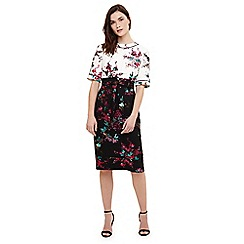 Phase Eight - Multicoloured ariana floral print dress