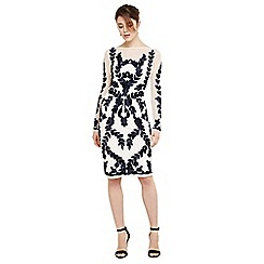 Phase Eight - Cream amelie tapework dress