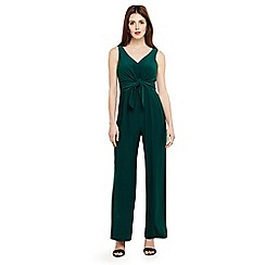Phase Eight - Green angie tie front jumpsuit