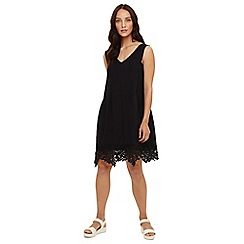 Phase Eight - Black prim lace dress