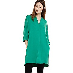 Phase Eight - Green kathy shirt dress