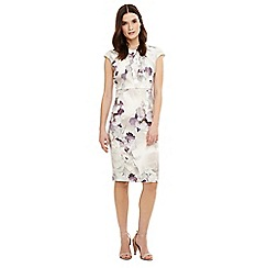 Phase Eight - Multicoloured wanda floral print dress