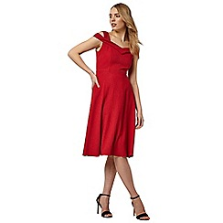 Phase Eight - Red gillenia flared dress