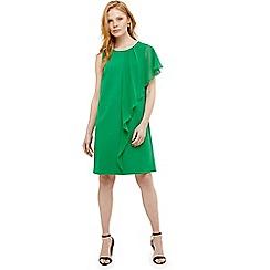 Phase Eight - Green morganna frill dress