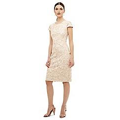 Phase Eight - Cream cornelia tapework dress