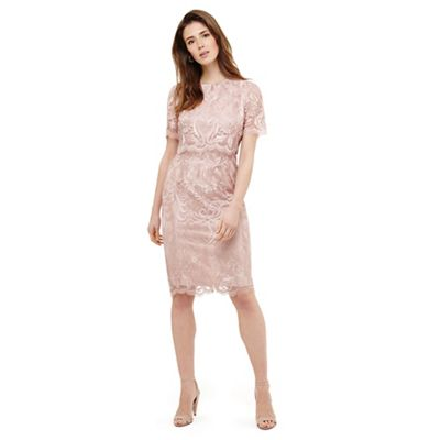 Phase Eight   Pink Aida Lace Double Layered Dress by Phase Eight