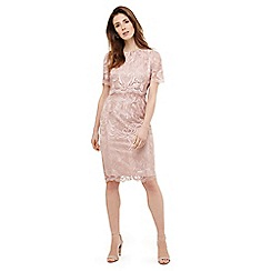 Phase Eight - Pink aida lace double layered dress
