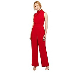 Phase Eight - Red cressida roll neck jumpsuit