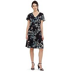 Phase Eight - Multicoloured jay bird print dress