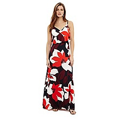 Phase Eight - Multi-coloured lana floral print maxi dress