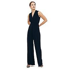 Phase Eight - Blue tia sleeveless jumpsuit