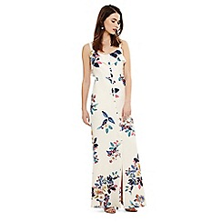 Phase Eight - Cream cloella floral maxi dress