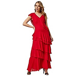 Phase Eight - Red betsy frill dress