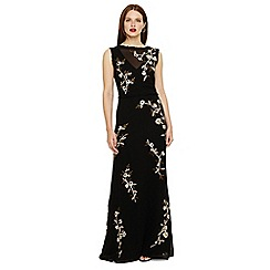 Phase Eight - Black  abigail floral dress