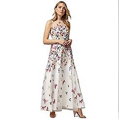 Phase Eight - White anastacia embroidered dress