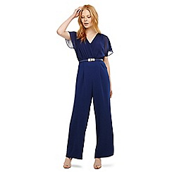 Phase Eight - Blue alba belted jumpsuit