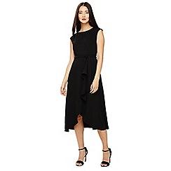 Phase Eight - Black rushelle dress