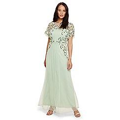 Phase Eight - Blue carla embellished dress