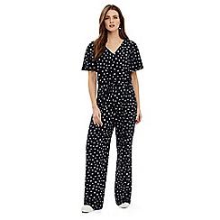 Phase Eight - Blue laila spot print jumpsuit