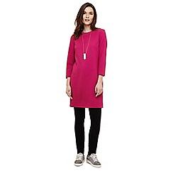 Phase Eight - Purple tilly textured tunic dress