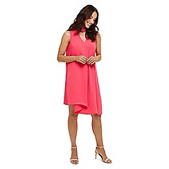Phase Eight - Pink taylor pleat front dress